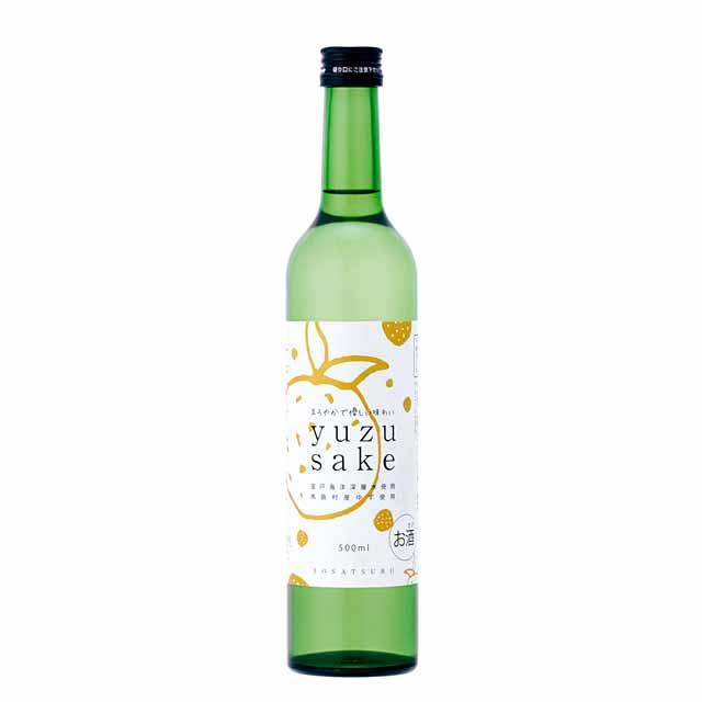 yuzu sake <ゆず酒> 500ml